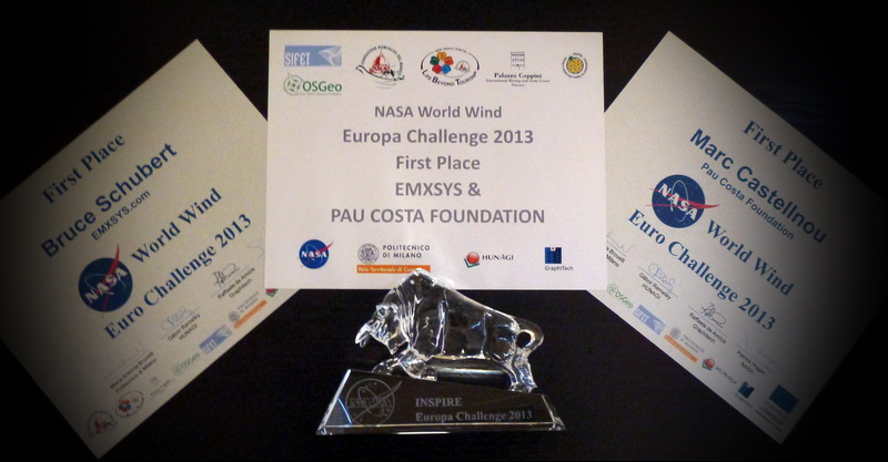 NASA Europa Challenge 2013 Award Picture